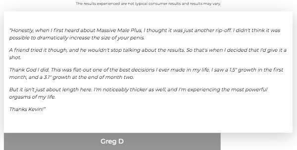 Massive Male Plus Review