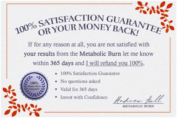 The Metabolic Burn Program Reviews