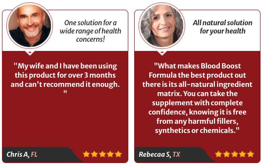 HemoBoost Blood Boost Formula Ingredients