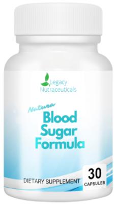 Natura Blood Sugar Formula Supplement