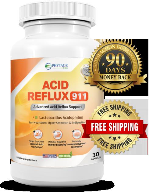 Acid Reflux 911 Dietary Supplement: Heart Burn Support