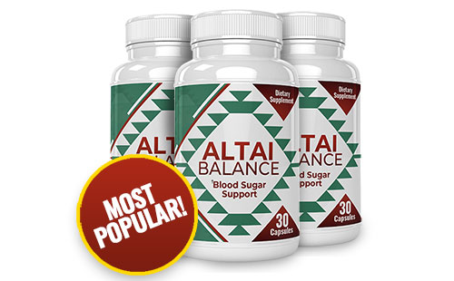 Altai Balance Pills - All-Natural Diabetes Supplement