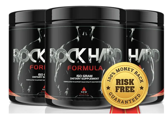 Rock Hard Formula Review - Ultimate Testosterone Booster
