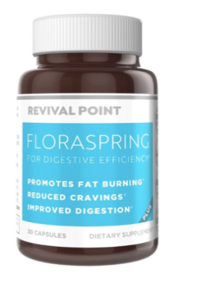 FloraSpring Dietary Supplement - Healthy Digestion Formula