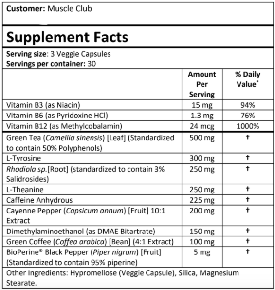 Prime Shred Supplement review