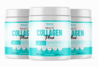Multi Collagen Plus Thyroid Support - Healthy Fat Burning Support