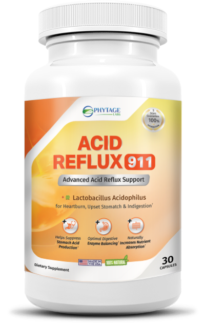 Acid Reflux 911 Supplement Reviews
