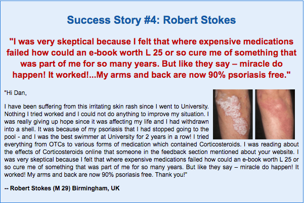 Psoriasis Revolution Testimonials