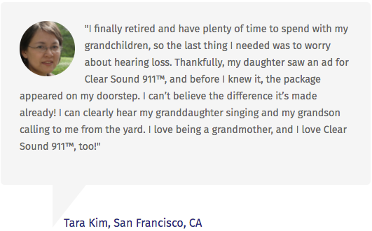 Clear Sound 911 Testimonials