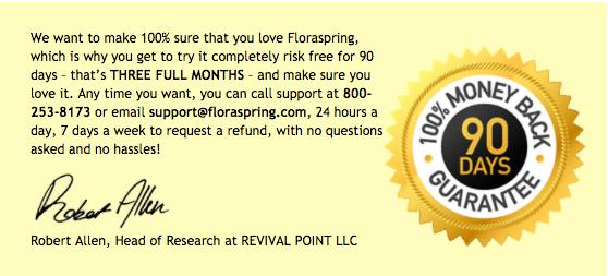 FloraSpring Testimonials