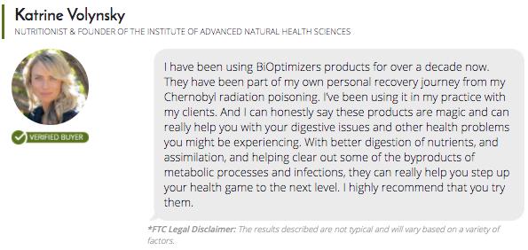 P3-OM Probiotics Testimonials