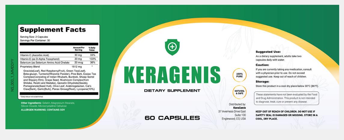 KeraGenis Ingredients
