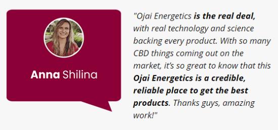 Ojai Energetics Full Spectrum Hemp Elixir Customer Reviews