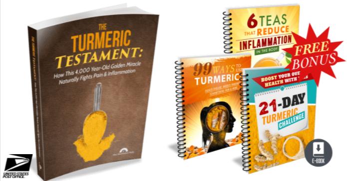 The Turmeric Testament Book PDF + Bonus